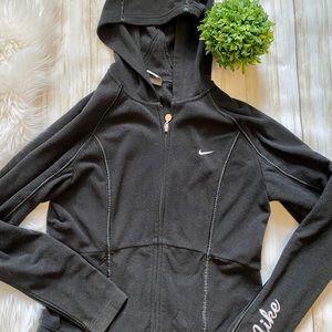 Nike Black Hoodie Fleece Sweatshirt